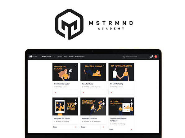 MSTRMND Academy: Courses for Entrepreneurs, Business Owners & Professionals: Lifetime Subscription