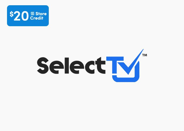 SelectTV Streaming App Lifetime Subscription + $20 Store Credit